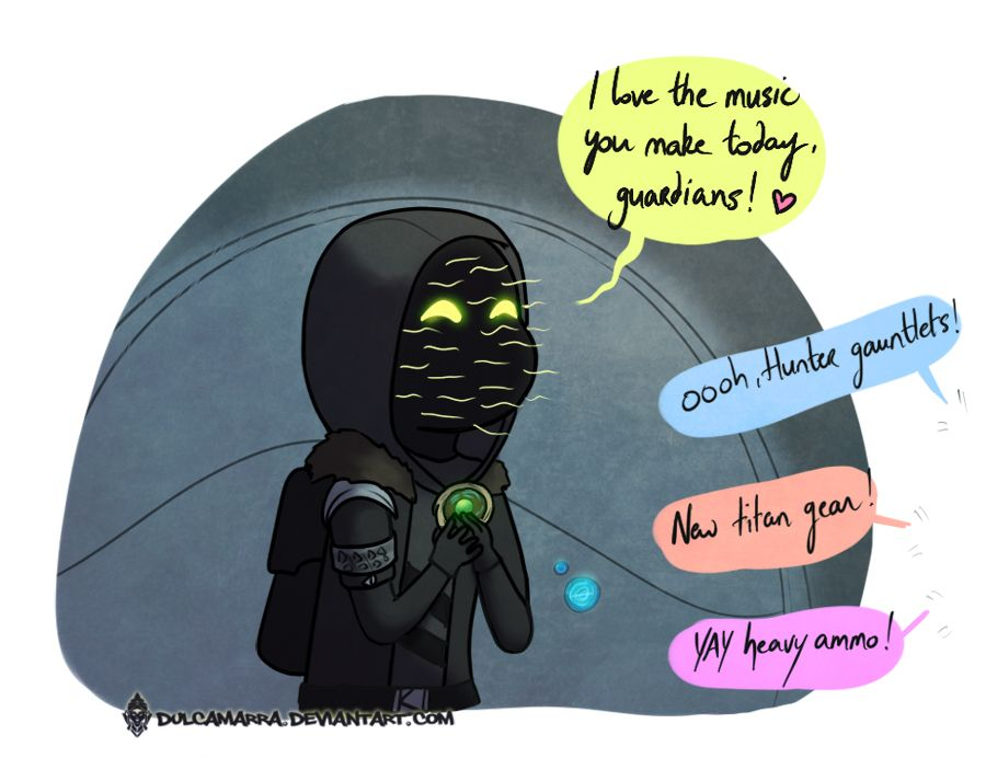 Agent of the nine--poor Xur used to be waited for all week.