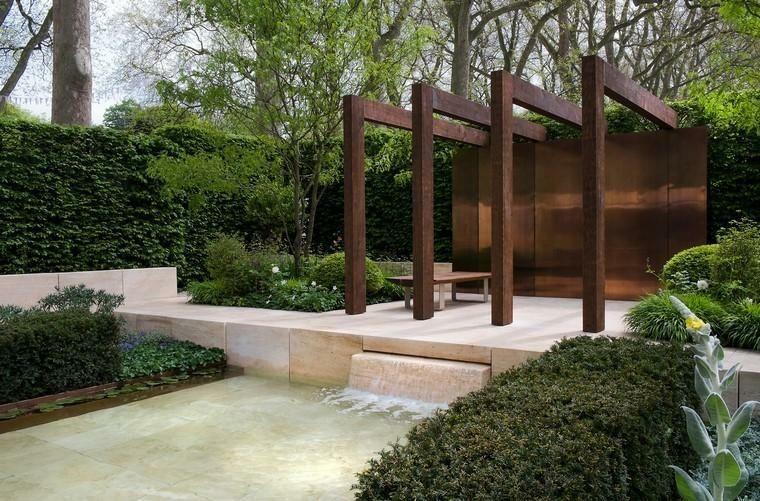 Cortenstahl Im Garten Ideen Für Landschafts Und Außendesign