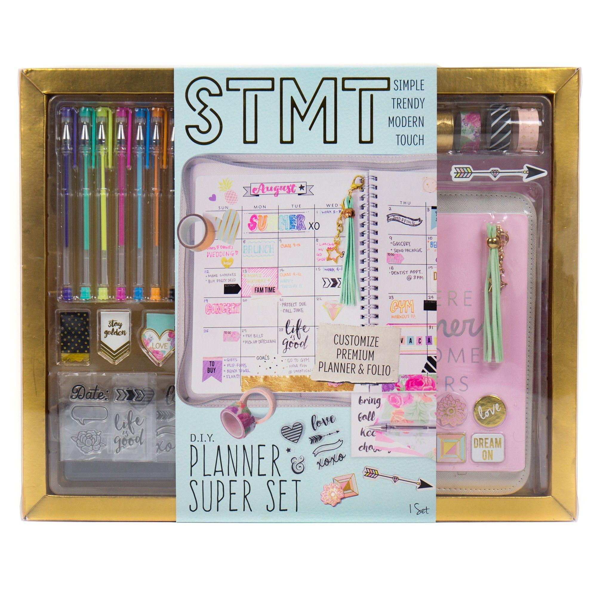 Stmt Diy Planner Super Set Activity Kit Arts, crafts