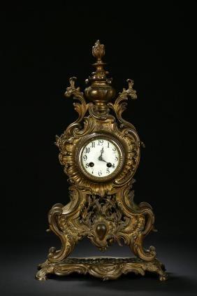 An Antique Bronze Clock Antique Bronze Clock Bronze Clock Antique Wall Clocks