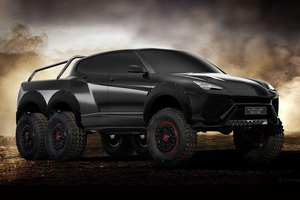 Lamborghini Urus 6x6 Concept Truck By Lambo Cars Transportation