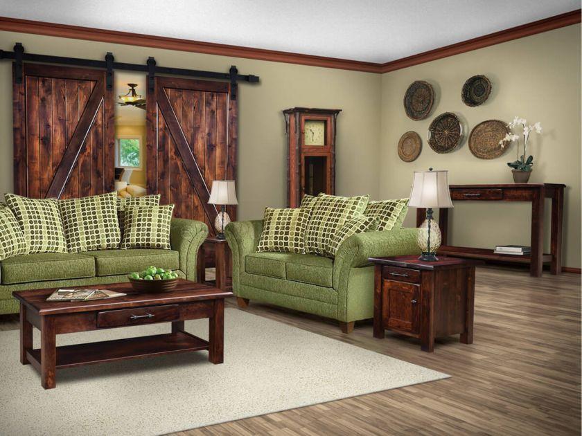 Scottsbluff Living Room Set Living Room Sets Modern Rustic Living Room Wood Furniture Living Room #rustic #living #room #furniture #set