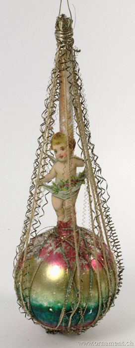 Antique Christmas Ornaments >> Ornament: Victorian - These old ornaments are somewhat ...