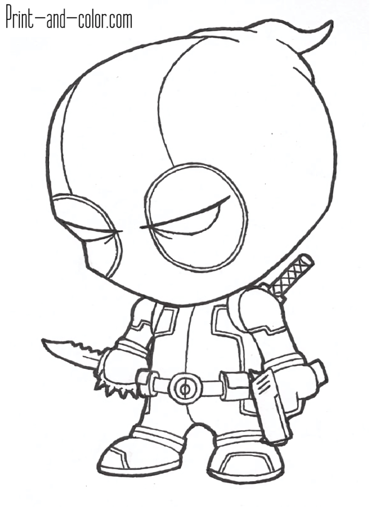 Avengers Funko Pop Coloring Pages | Coloring Easy