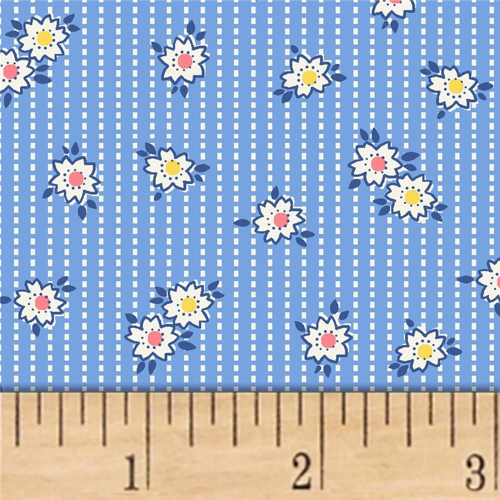Storybook Ranch Prairie Stripe Blue With Images Printing On Fabric Blue Stripes Windham Fabrics