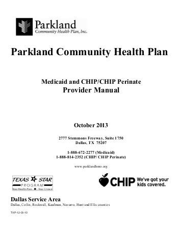 parkland health first medicaid health Pinterest - community service form