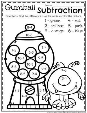 Subtraction Worksheets Subtraction worksheets