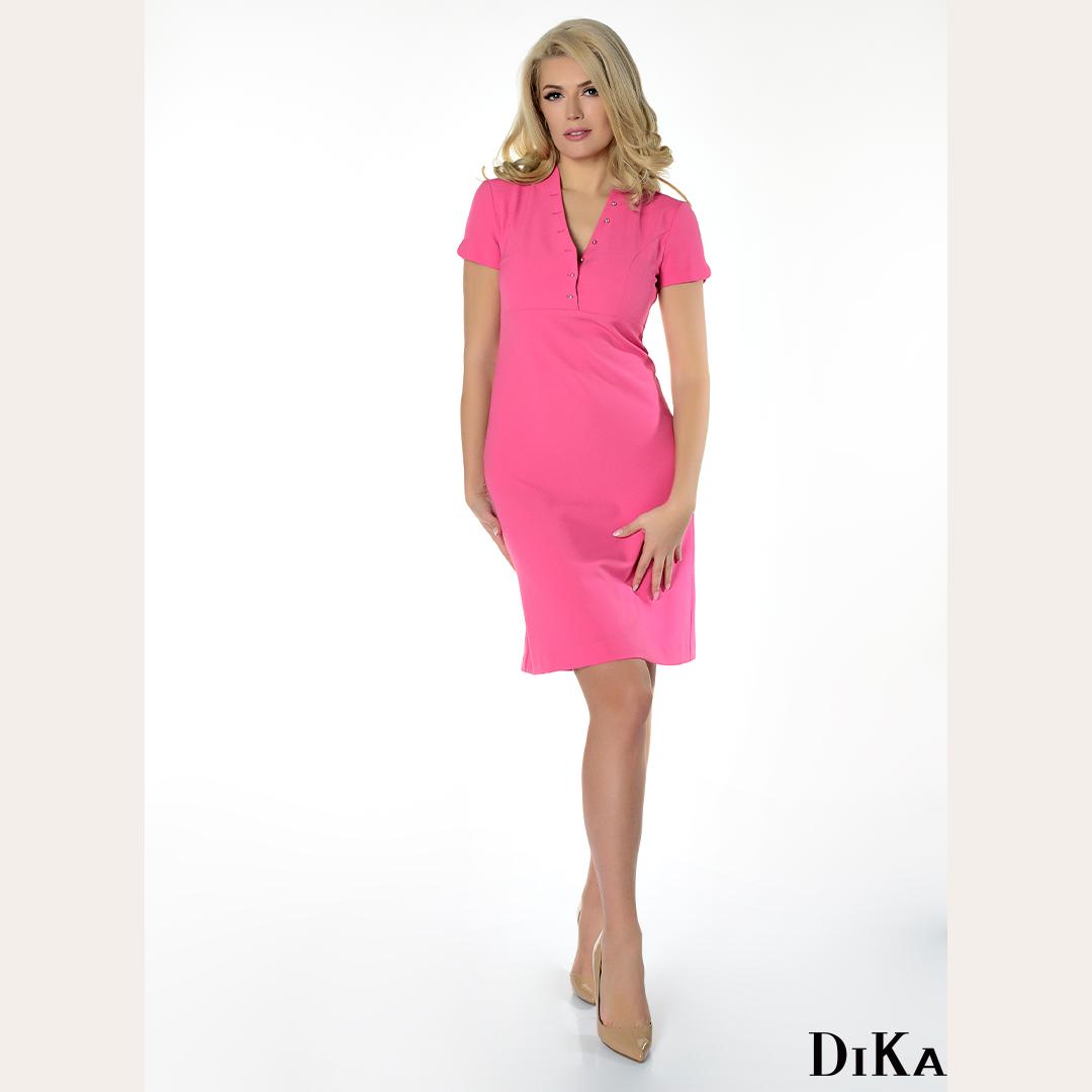 В дни като тези розовото е най-любимият ни приятел! --- At days like this, pink is our very best friend!  #DiKa #pinkdress #pink #thinkpink #supportlocal #madeineurope #fashionbrand #lookbook