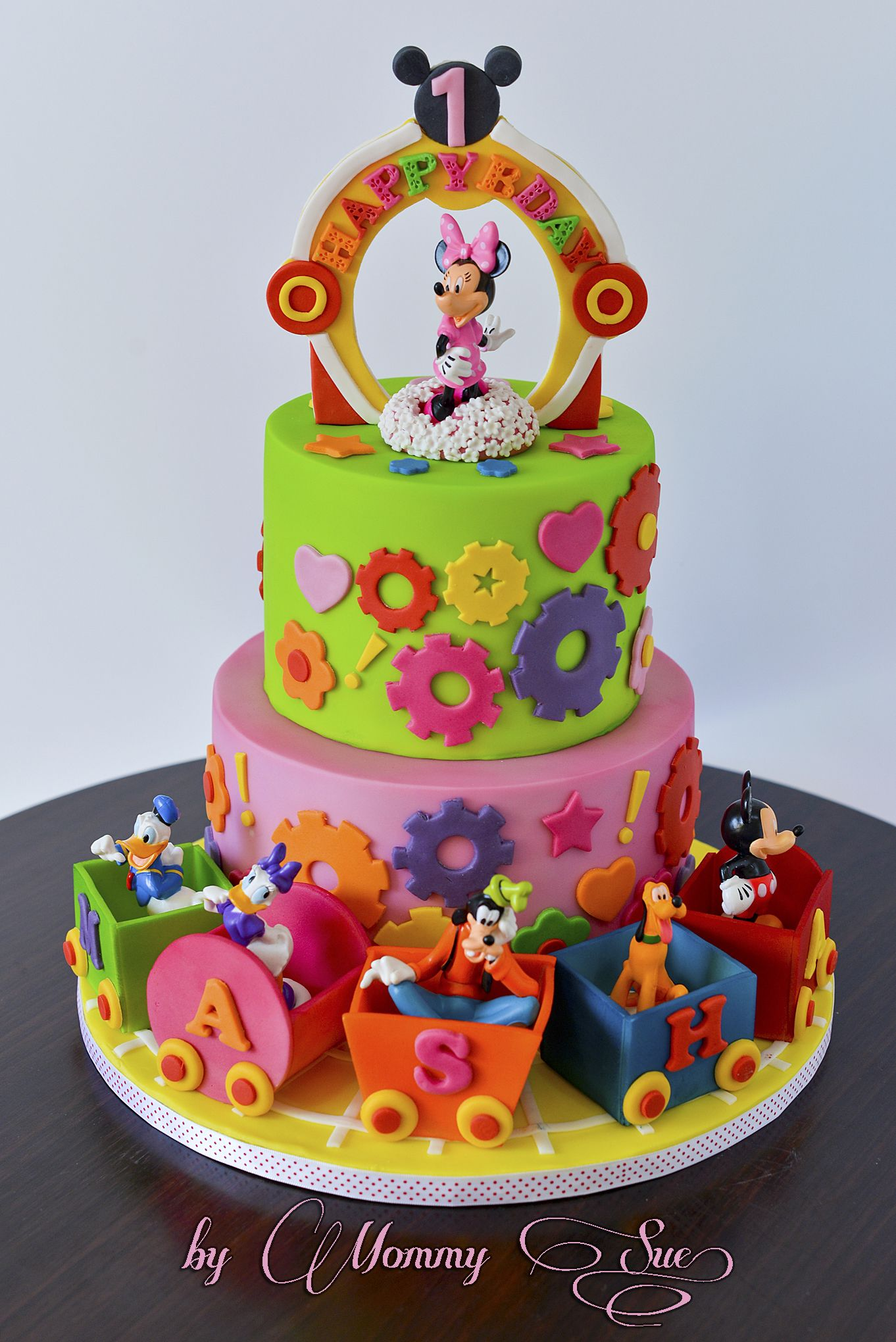 Minnie Mouse Boutique Cake Birthday Cake for Girls Pinterest