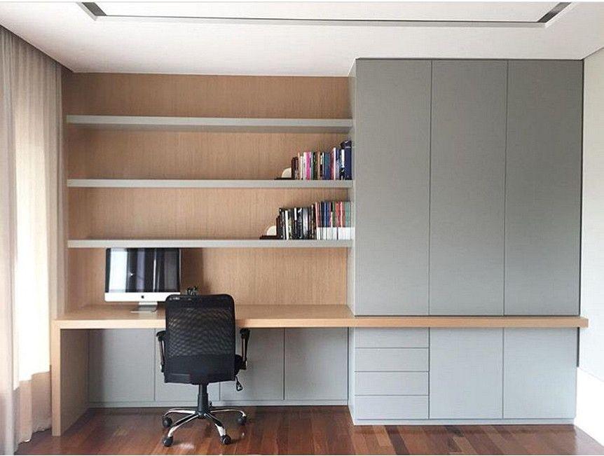 Unique And Comfortable Office Design Ideas Home Office Cabinets Home Office Storage Home Office Design