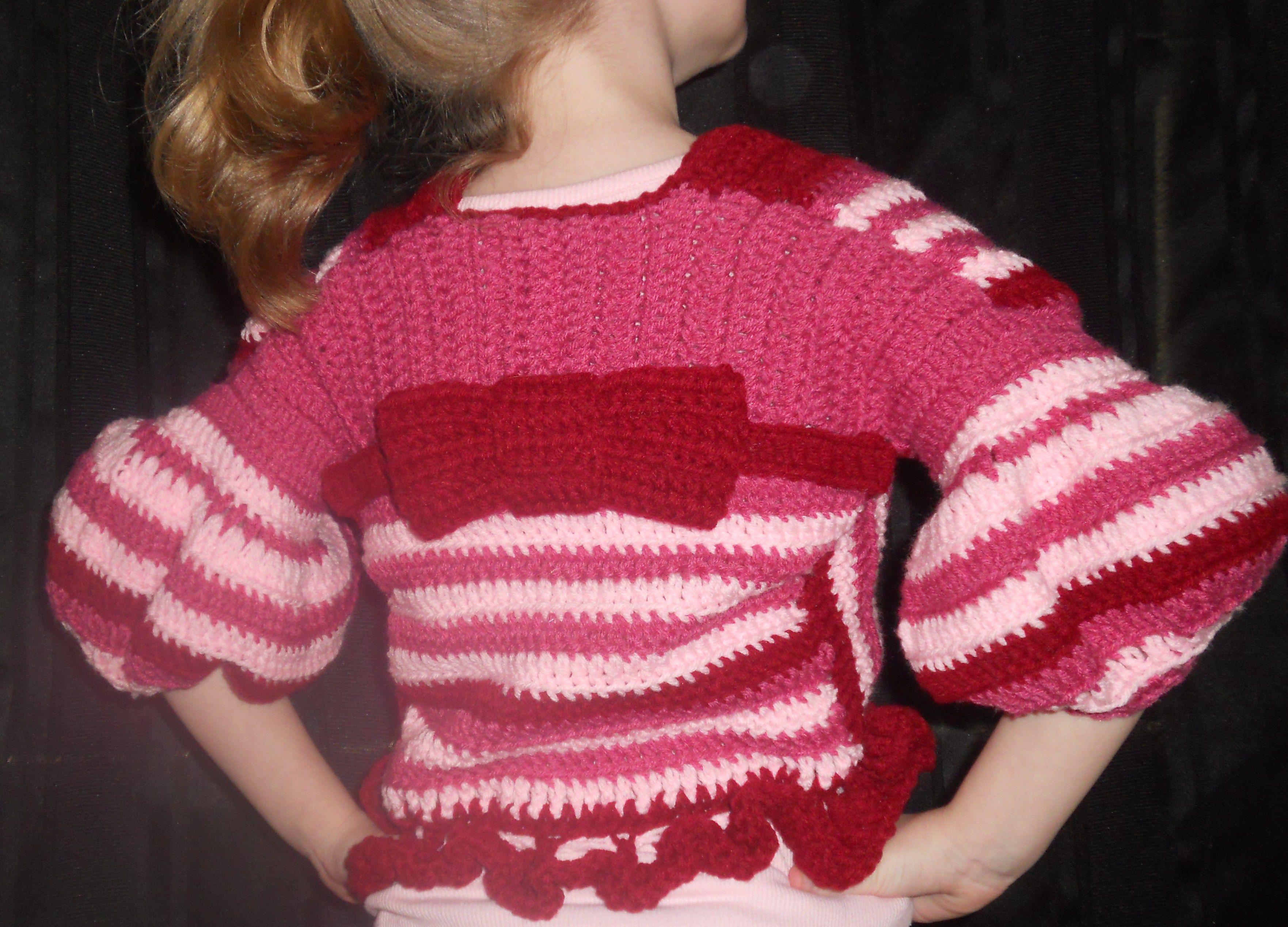 Valentine's Sweater Back