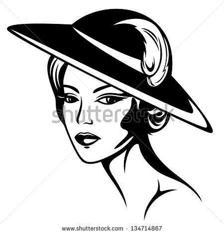 Retro Clip Art Quirky Women The Graphics Fairy Vintage Illustration Clip Art Vintage Retro Illustration