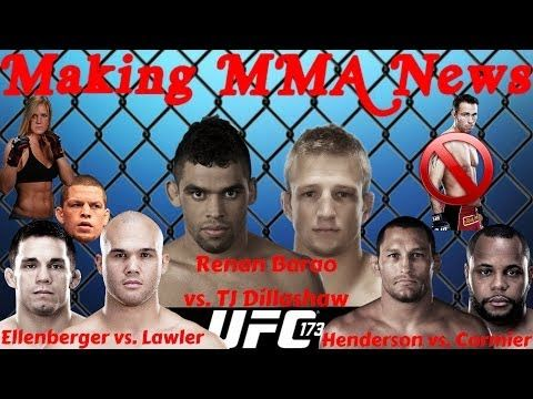 Ufc 173 Barao Vs Dillashaw Ellenberger Vs Lawler Cormier Vs Hendo On The Mma Live Chat Show On The Mma Live Chat Show Season 2 Mma Hen Do Live Chat