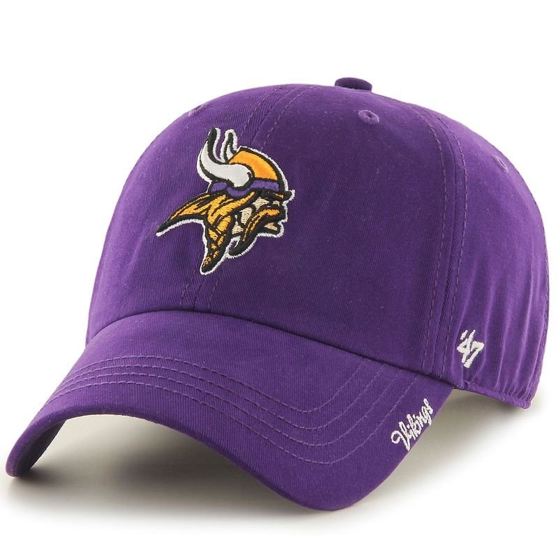 Women s Minnesota Vikings  47 Purple Miata Clean Up Adjustable Hat -  NFLShop.com 4cead0fde