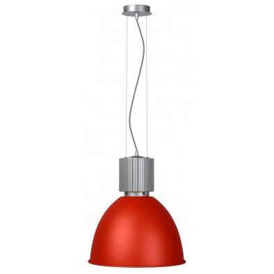 Hanglamp Fabric Rood