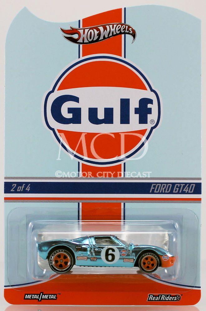 2013 Hot Wheels Rlc Real Riders Gulf Racing Ford Gt40 Hot Wheels