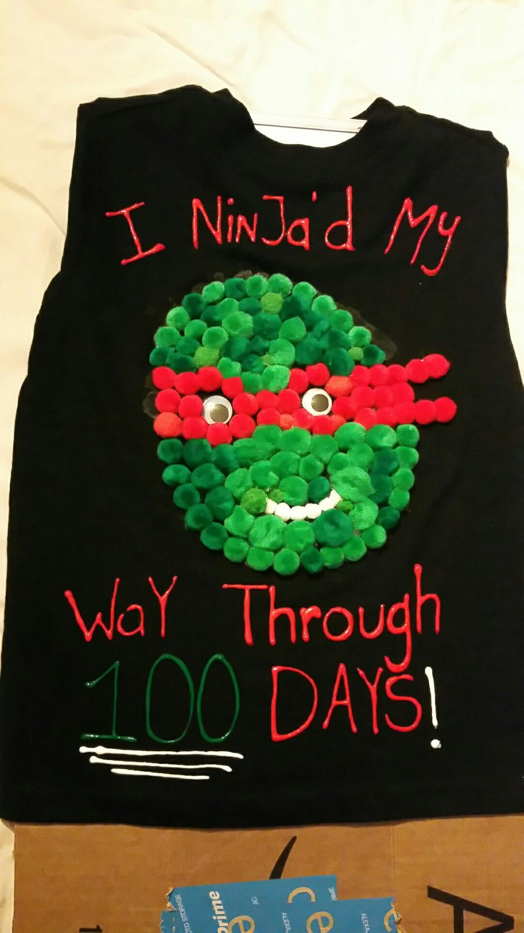 100 Days Of School Shirt Ninja Turtles 100days Of School Shirt
