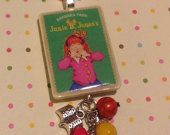 Special Order - Junie B Jones - Barbara Park Necklace