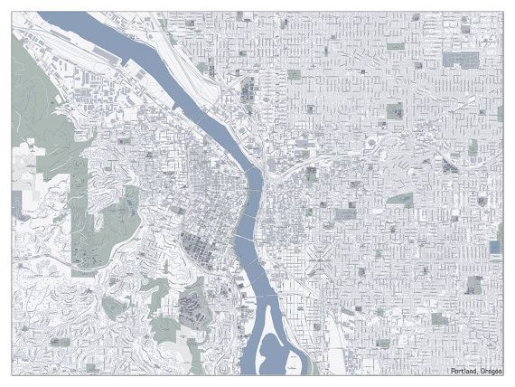 Custom Large City Map of YOUR City or Town 6xft by BigWorldMaps