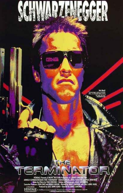 The Terminator Arnold Schwarzenegger Movie Poster 11x17