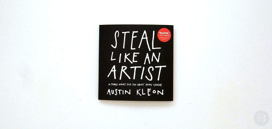 Book review steal like an artist austin kleon isbn
