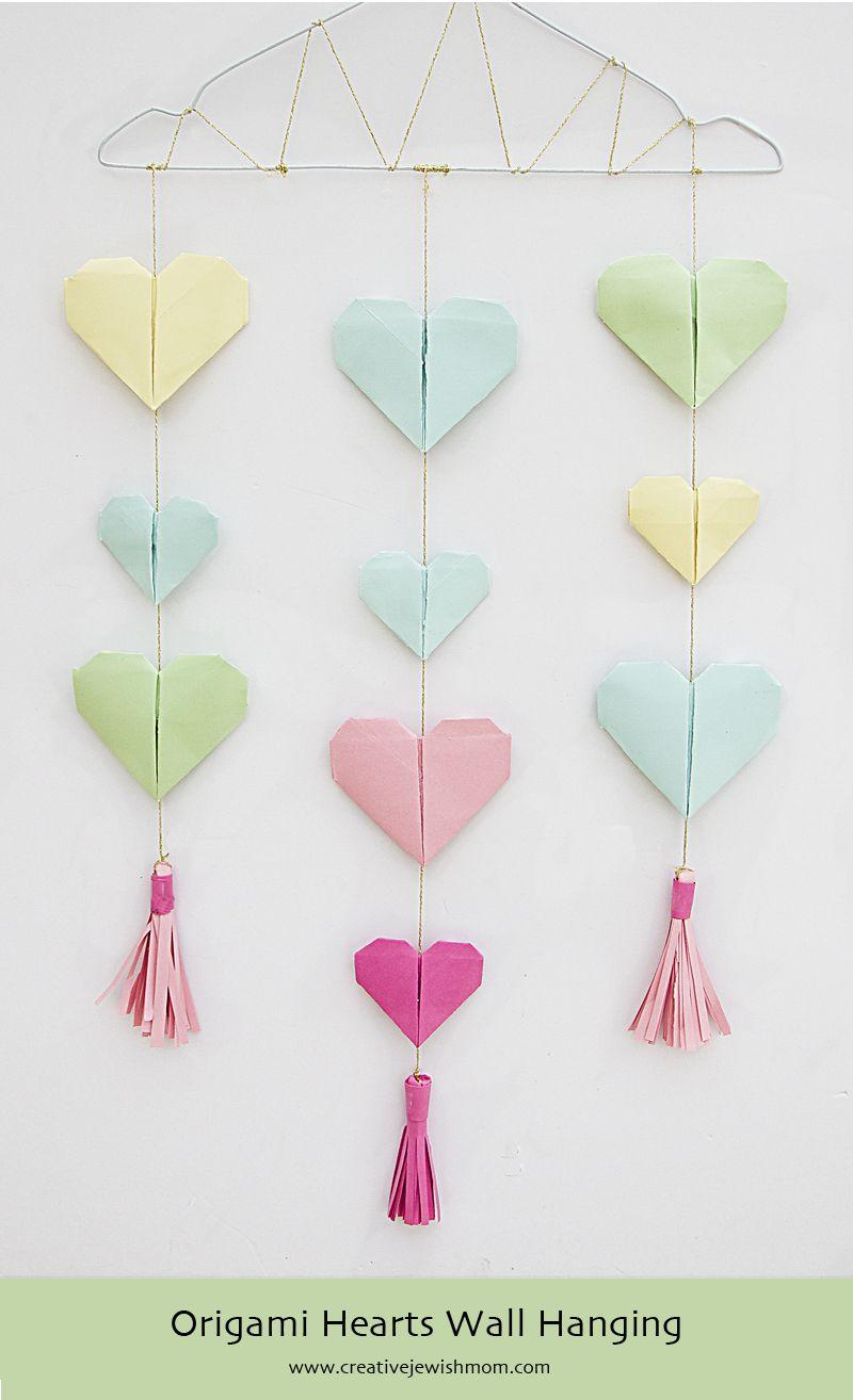 Cara Membuat Hiasan Dinding Dari Kertas Origami : membuat, hiasan, dinding, kertas, origami, Creative, Jewish, Origami, Crafts,, Decoration