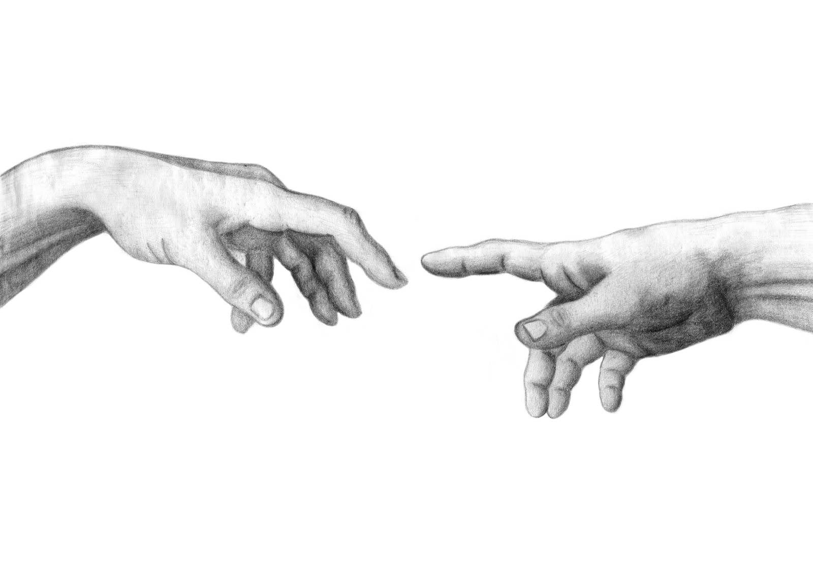 Touch of gods Leonardo Da Vinci | Hands | Pinterest ...