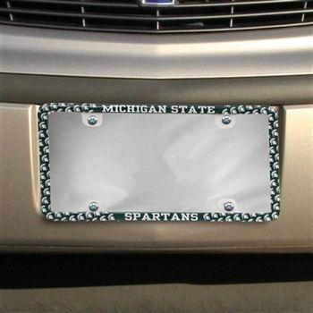 Spartans Mini Logo License Plate Frame License Plate