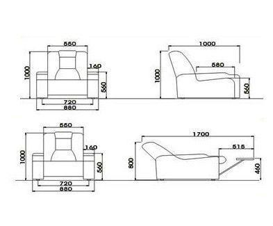 Best Nice Recliner Sofa Dimensions Amazing Recliner Sofa 400 x 300