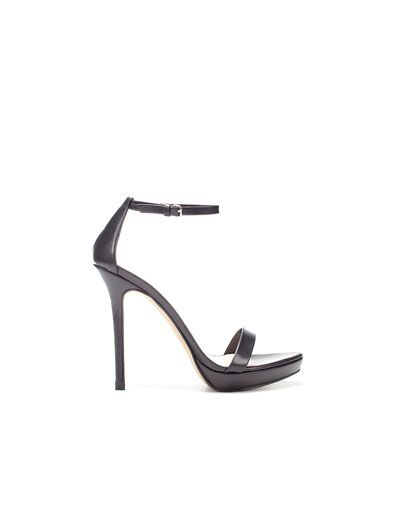 b16a71240e5b THIN STRAP SANDALS - Heeled sandals - Shoes - Woman - ZARA India ...