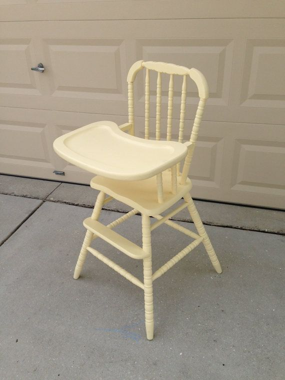 Vintage Wooden High Chair by savannah6783 on Etsy - Vintage Wooden High Chair By Savannah6783 On Etsy Sadie's