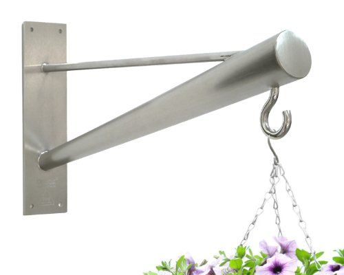 Stainless Steel Wall Bracket For Hanging Baskets Bird