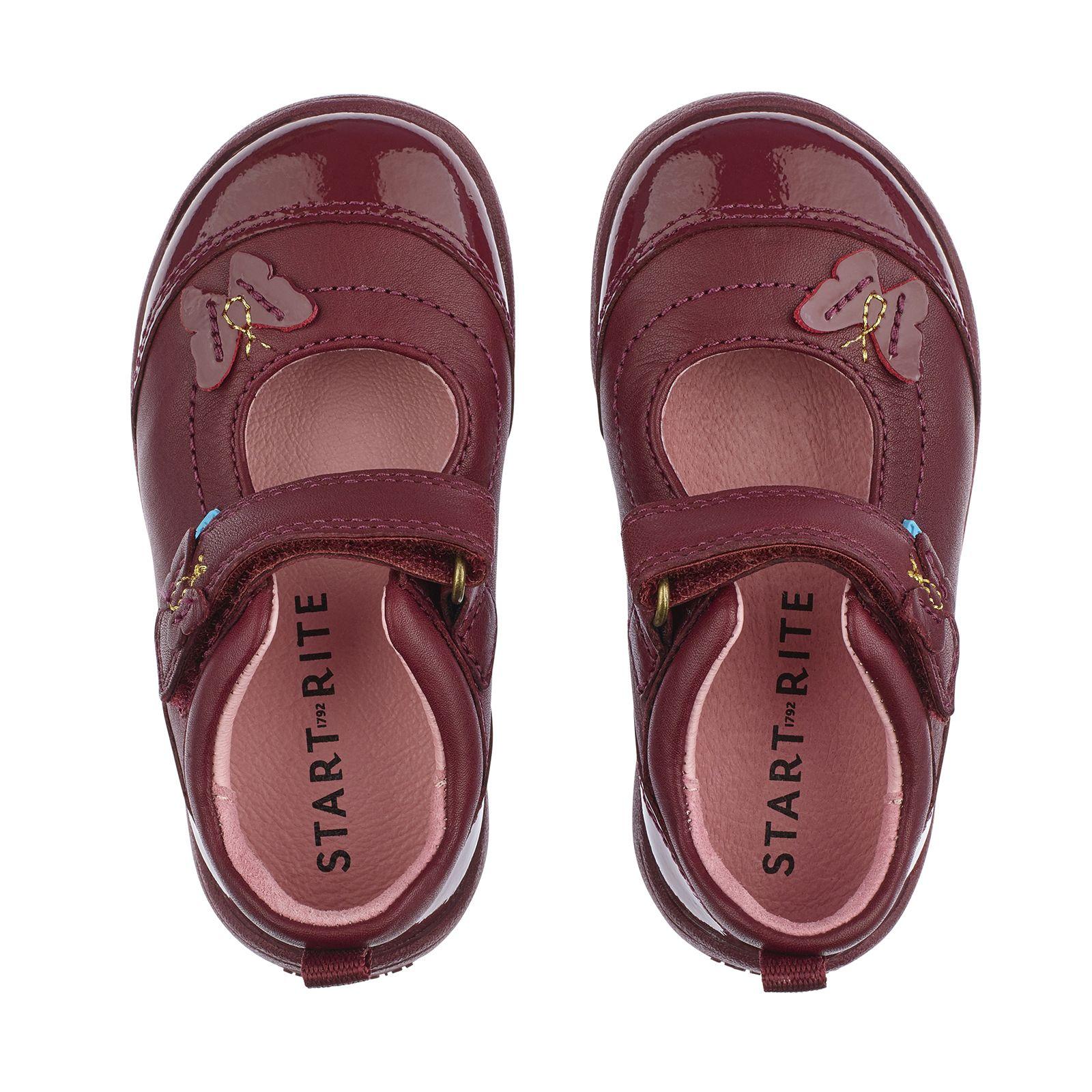 cbe9e13c134 Swing in Wine Leather/Patent | Pre-School in 2019 | School shoes ...
