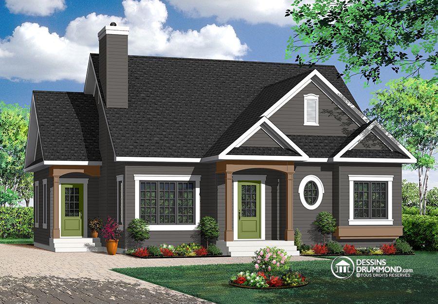 Détail du plan de Maison unifamiliale W3116 Our Little Home - liste materiaux construction maison