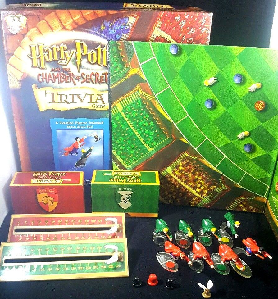 Harry Potter The Chamber Of Secrets Trivia Board Game