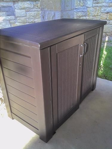 Resin Patio Cabinet