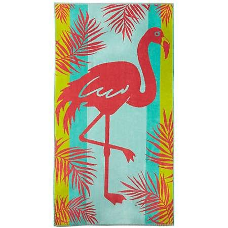 Tropix flamingo palm leaf beach towel beach towel flamingo and towels tropix flamingo palm leaf beach towel bealls florida publicscrutiny Image collections