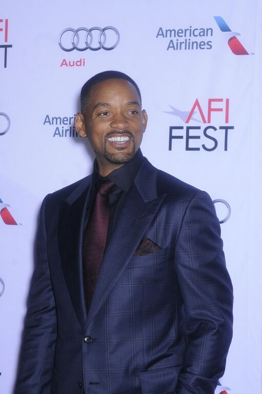 Will Smith arrives at the Concussion premiere at AFI FEST presented by Audi at TCL Chinese Theatres. #WillSmith