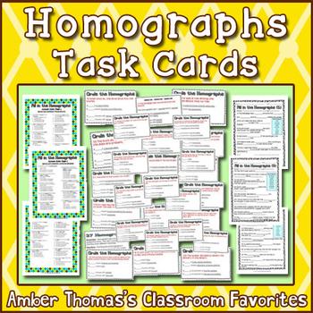 21 Homographs Activity Task Cards Homographs Homographs Activities Task Cards Homograph worksheet 5th grade