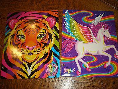 2 Lisa Frank Folders Tiger Pegasus Skye Two Pocket 3 Hole School Paper Binder in Home & Garden, Kids & Teens at Home, School Supplies | eBay