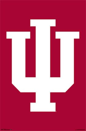 Indiana University Hoosiers Iu Official Ncaa Team Logo Poster Available At Www Sportsposter Indiana University Bloomington Indiana University Indiana Hoosiers