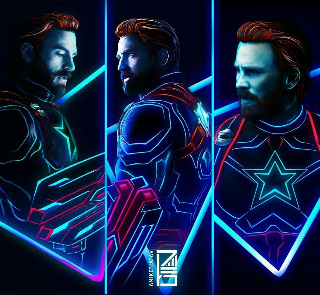 The Light of CAPTAIN AMERICA💪 Marvel, Marvel heroes