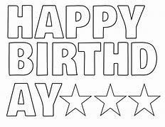 Photo of Image result for happy birthday printable sign