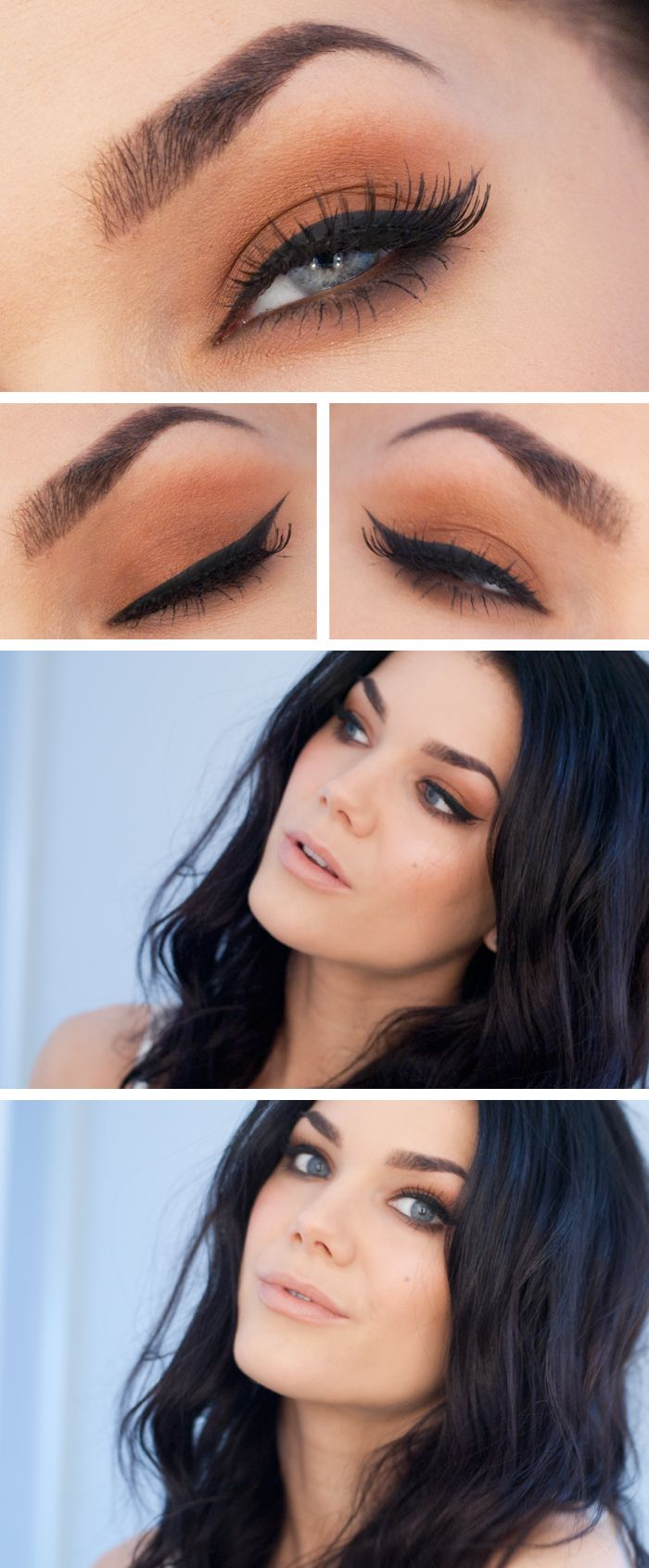 Cat eye a perfect everyday look linda hallberg pinterest