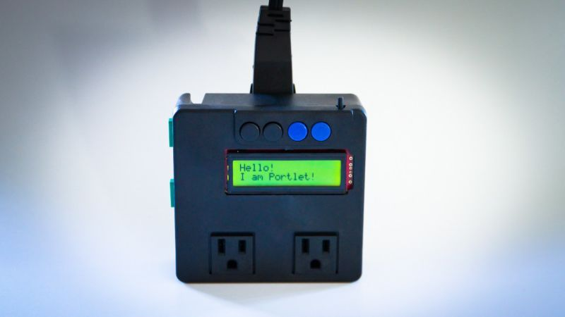This DIY Programmable Outlet Can Control Gadgets, Monitor