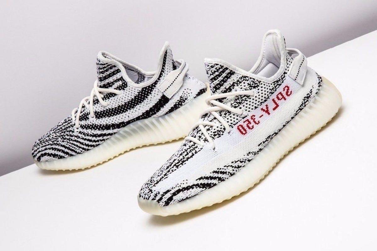 Adidas Yeezy boost 350 v2 zebra in 2020