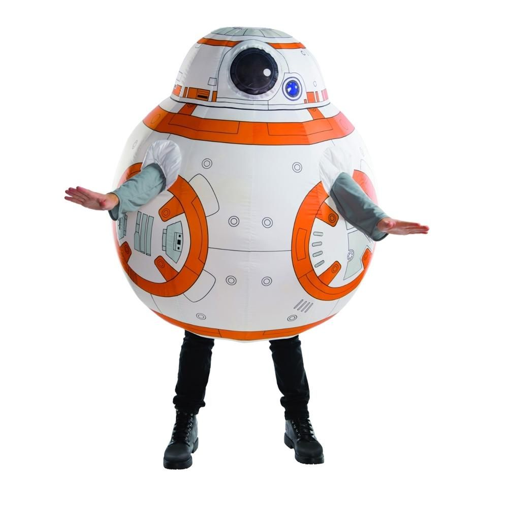 Star Wars The Force Awakens Inflatable Adult Mens Costume  sc 1 st  Pinterest & Trendy Halloween - #Rubies Star Wars The Force Awakens BB-8 ...