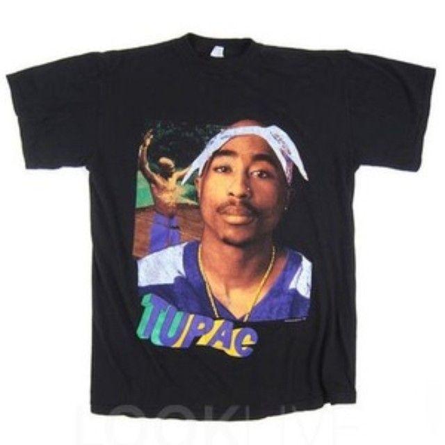 Tupac T Shirt Vintage Tees Kanye West Tupac T Shirt Fashion Mens Tops