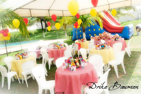Picnic Themed 9th Birthday Party via Karas Party Ideas Kara