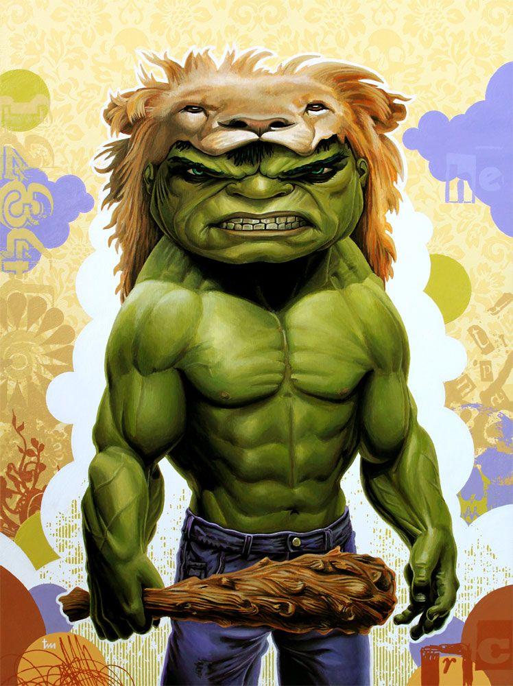 #Hulk #Fan #Art. (Modern Myth: Hulk x Hercules) By: Tim Maclean. (THE * 5 * STÅR * ÅWARD * OF * MAJOR ÅWESOMENESS!!!™)